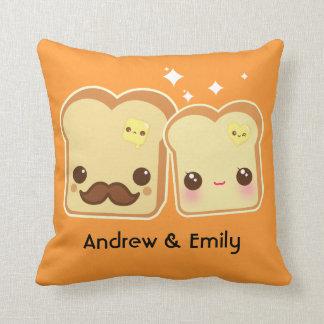 Personalizado - casal bonito dos brindes de Kawaii Travesseiros