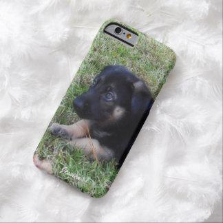 Personalizado: Caso do iPhone 6 do german shepherd Capa Barely There Para iPhone 6
