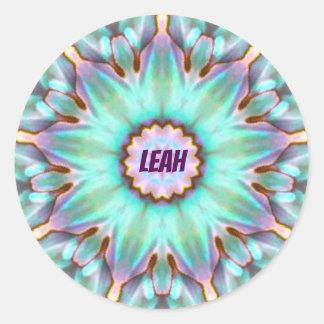 ~ personalizado ~ da etiqueta de LEAH Paua Shell