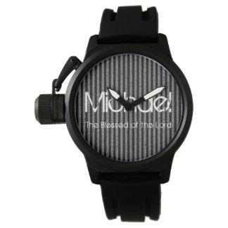 Personalizado do nome abençoado do senhor relógio