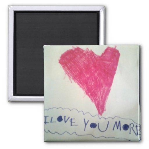 Personalize a arte da sua criança em ímãs imas