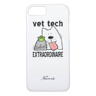 Personalize a tecnologia do veterinário do capa iPhone 7