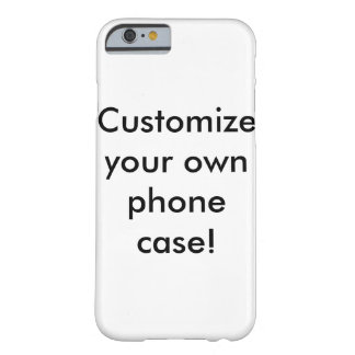 Personalize Capa Barely There Para iPhone 6