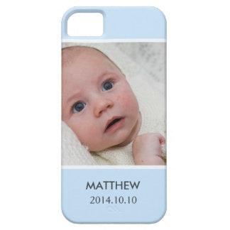 Personalize com sua foto do bebê do menino - na capas para iPhone 5