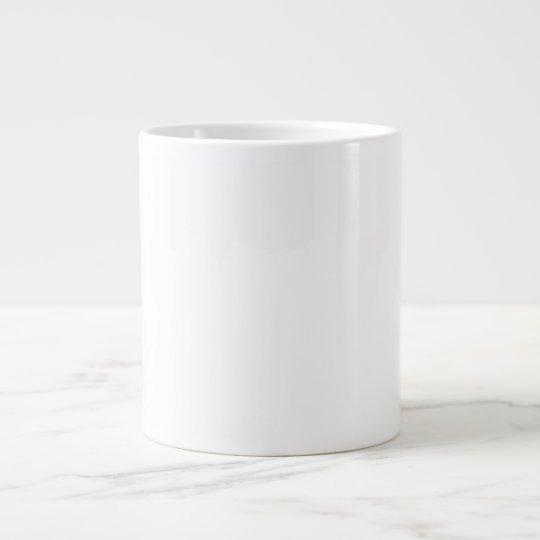 Personalize esta caneca/tigela caneca de café grande