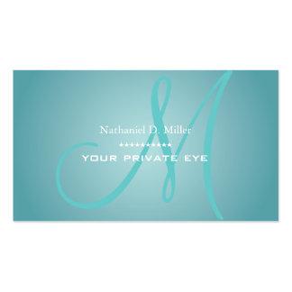 Personalize este cartão de visita do monograma