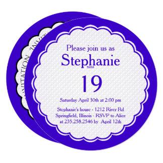 Personalize: Fotografia floral da corriola Convite Quadrado 13.35 X 13.35cm