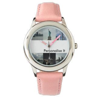 Personalize-o caçoa o relógio de New York
