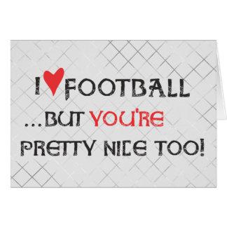Personalize o cartão do futebol - futebol do