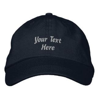 Personalize o chapéu bordado obscuridade do boné
