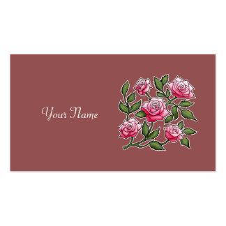 Personalize o nome - Marsala aumentou Cartão De Visita