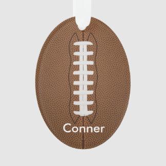 Personalize o ornamento do futebol