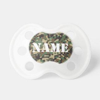 Personalize o Pacifier capaz da camuflagem Chupeta Para Bebê