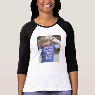 Personalize o presente da camisa da foto para