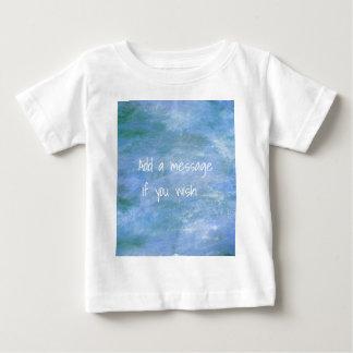 Personalize o seu camiseta para bebê