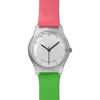 Personalize o seu relógio