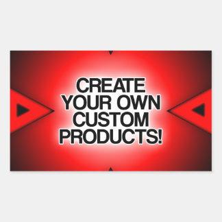 Personalize/personalize/criar seus próprios adesivo retangular