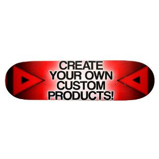 Personalize/personalize/criar seus próprios skates