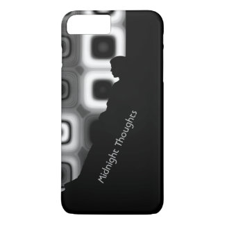 Personalize seus pensamentos da meia-noite capa iPhone 7 plus