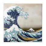 Personalizou a grande onda fora dos presentes de K Azulejos