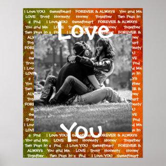 """Personalizou-o o poster deste do """"casal amor"""""""