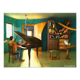 Perturbando o pianista