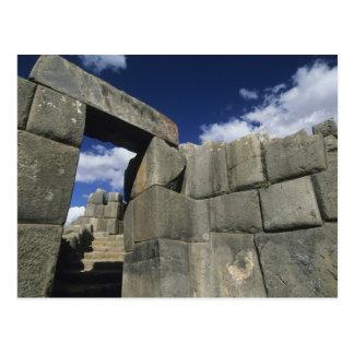 Peru, Cuzco, fortaleza de Sacsayhuaman, bom exempl Cartoes Postais