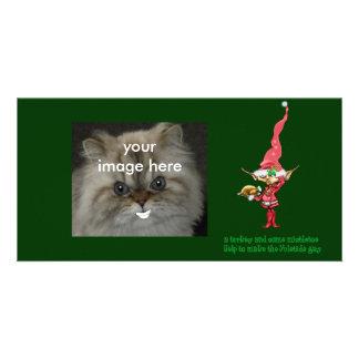 peru e visco cartões com fotos personalizados