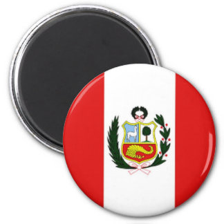 Peru_magnet Ímã Redondo 5.08cm