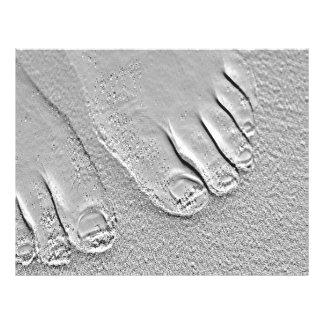 pés arenosos panfletos