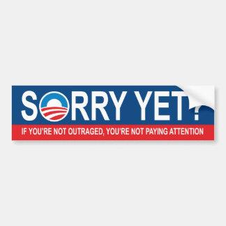 Pesaroso ainda? Anti Obama Adesivo Para Carro