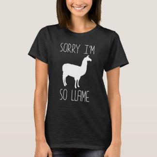 Pesaroso eu piada das Jogo-em-Palavras sou assim Camiseta