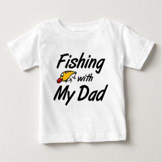 Pesca com meu pai t-shirts