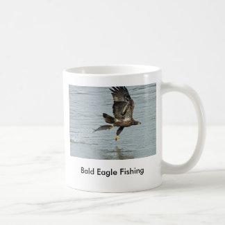 Pesca da águia americana caneca de café
