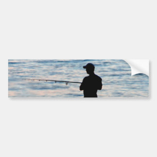 Pesca de surf no autocolante no vidro traseiro do  adesivo para carro