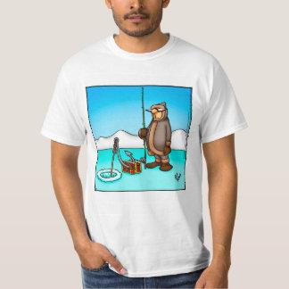 Pescador/camiseta engraçados humor da pesca camisetas