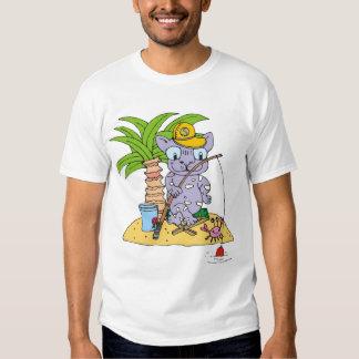 pescador do gato camisetas