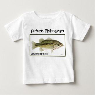 Pescador futuro camisetas