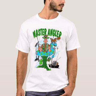 Pescador mestre camiseta