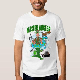 Pescador mestre t-shirts