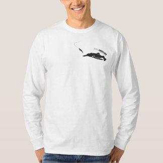 Pescador para a pesca do calamar camiseta