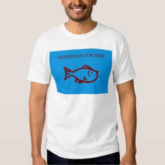 Pescador T_shirt Camiseta
