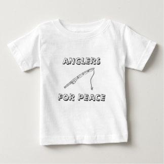 Pescadores para a paz tshirt