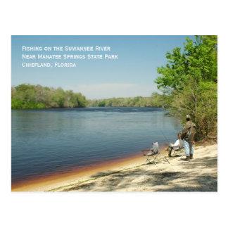 Pescando o cartão de Suwannee
