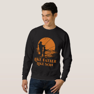 Pescar como o pai gosta do filho moletom
