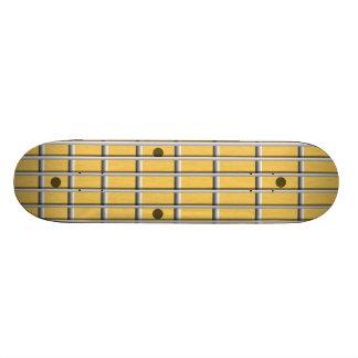 Pescoço da guitarra shape de skate 18,4cm