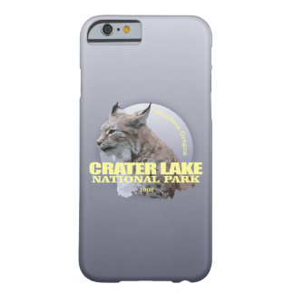 PESO do NP do lago crater (lince) Capa Barely There Para iPhone 6
