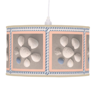 Pêssego macio encantador lâmpada de pendente