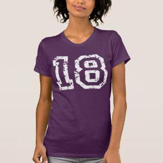 Pessoas de 18 anos camiseta
