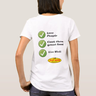 Pessoas do t-shirt das senhoras do amor camiseta